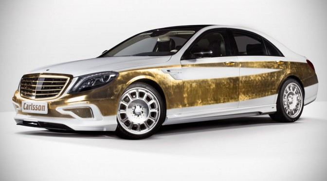 Carlsson CS50 Versailles - Gold Trimmed S-Class
