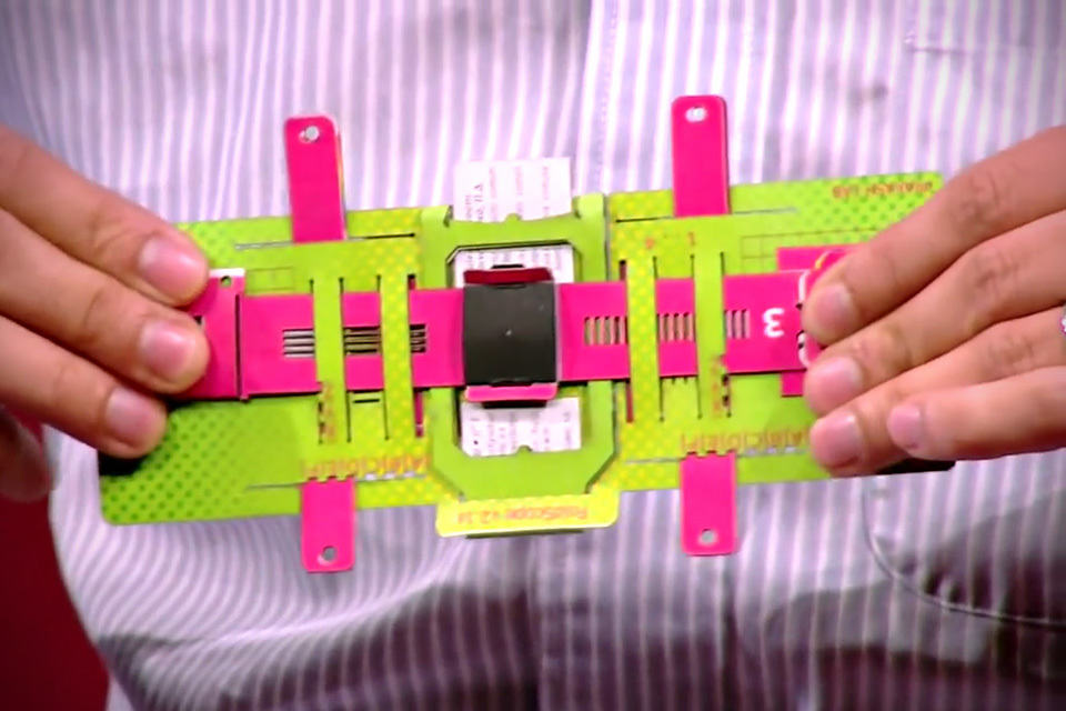 Foldscope Origami Based Folding Microscope Mikeshouts