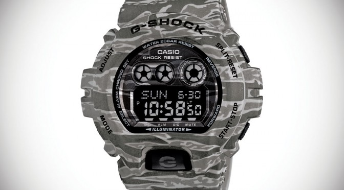 G-SHOCK Camouflage Watch