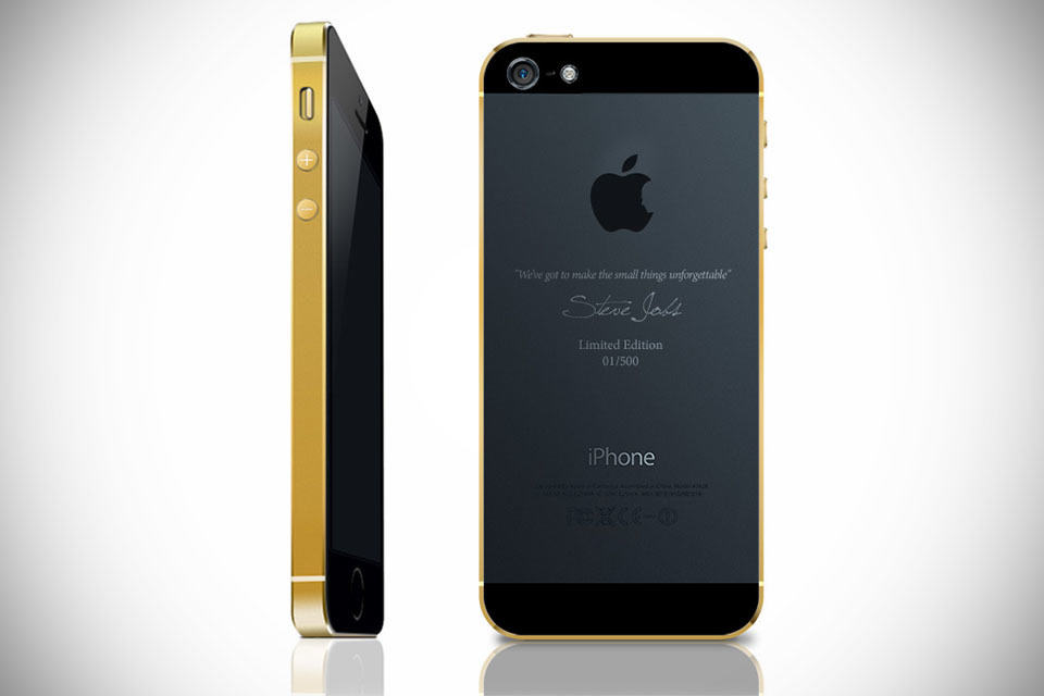 gold iphone 5 gold plated limited edition iphone 5s mikeshouts 10708