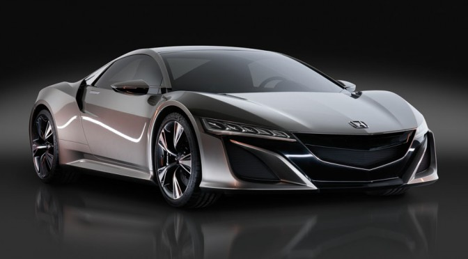 Honda NSX Prototype Hybrid All-Wheel Drive Supercar