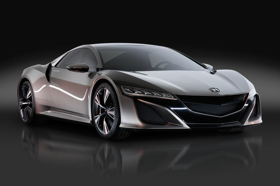honda nsx prototype hybrid all wheel drive supercar mikeshouts. Black Bedroom Furniture Sets. Home Design Ideas