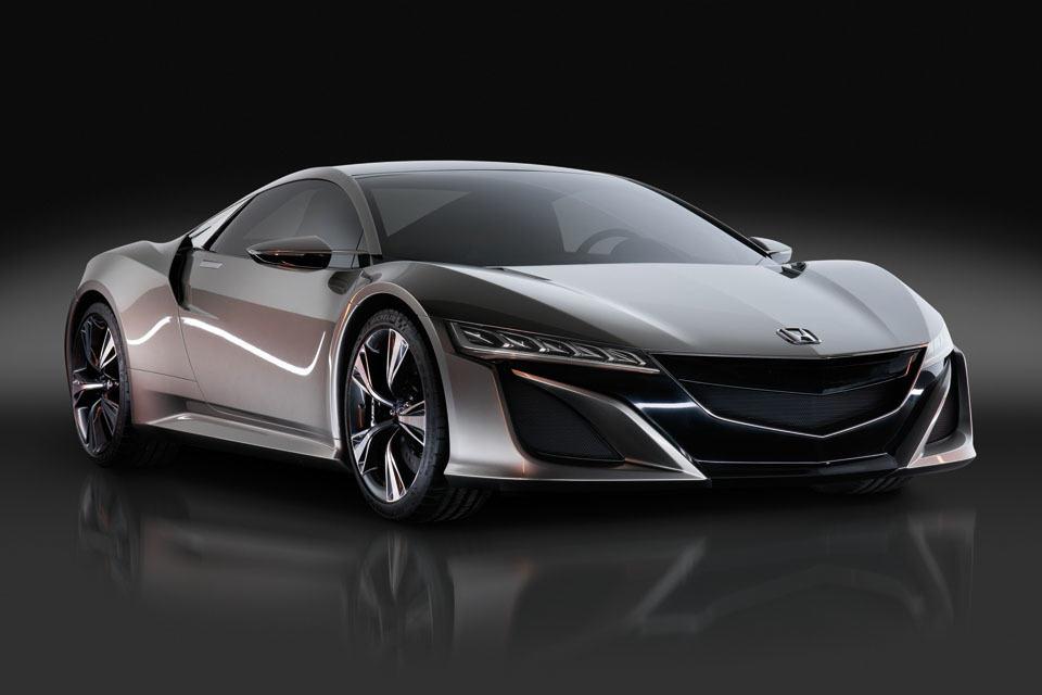 honda nsx prototype hybrid all wheel drive supercar. Black Bedroom Furniture Sets. Home Design Ideas