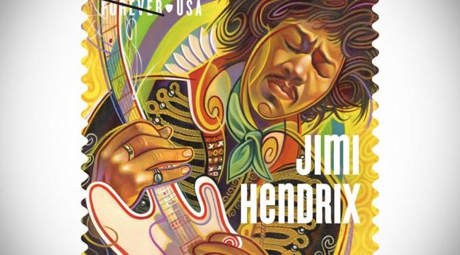Jimi Hendrix Forever Stamp