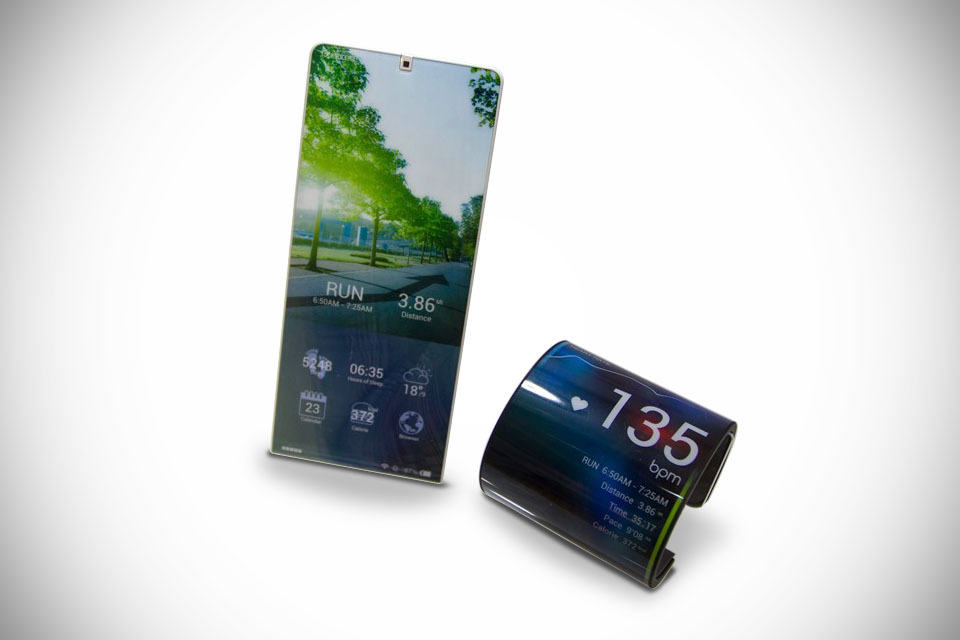 Kyocera Flexible Phone Concept - MIKESHOUTS