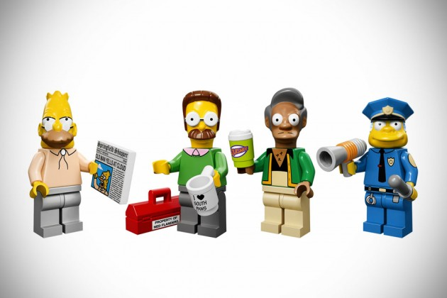 LEGO The Simpsons Minifigures