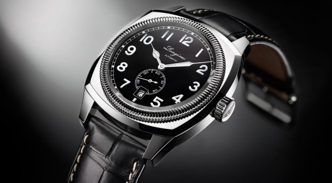 Longines Heritage 1935 at BASELWORLD 2014