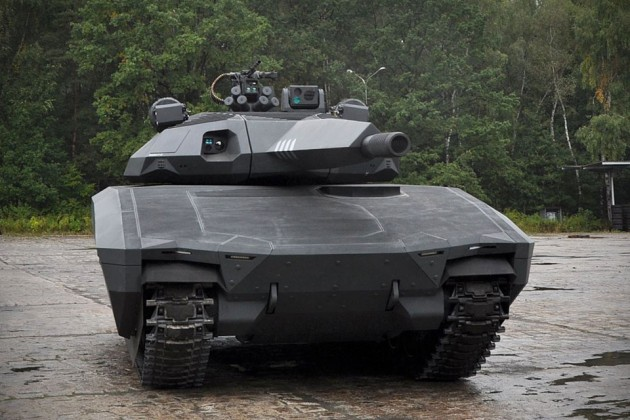 Obrum PL-01 Concept Tank with Adaptiv Systems