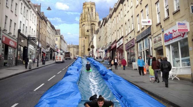 Park and Slide 300-foot Water Slide