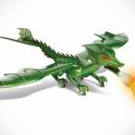 RC Fire-breathing Dragon