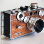 Retro Wood Paneled Cameras by Anchors & Anvils