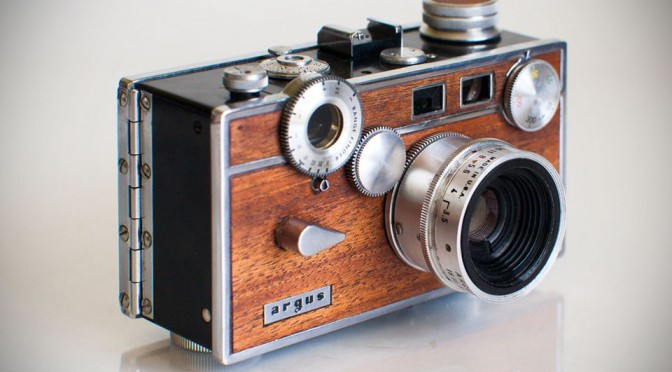 Retro Wood Paneled Cameras by Anchors & Anvils