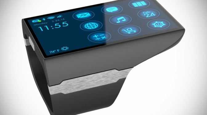 Rufus Cuff - Full-blown Android Smartwatch