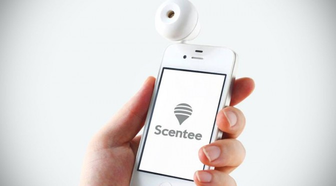 Scentee Lets You Smell The Food Before Ordering