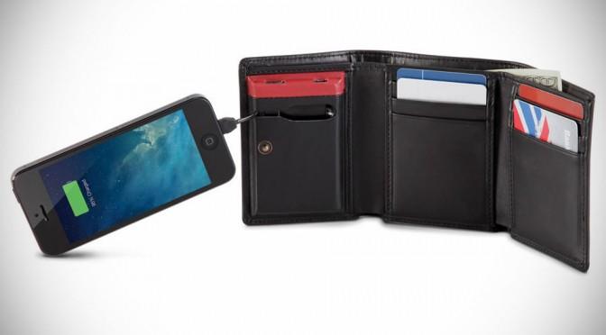 Smartphone Charging Wallet