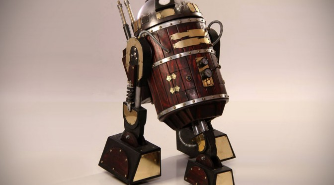 Steampunk R2-D2 by Nocturne Armory