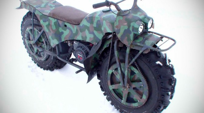 Taurus 2x2 All-Terrain Motorcycle - model 2m
