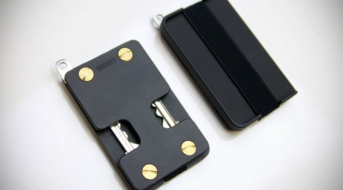 The Liquid Wallet - A Key Fold Minimalist Wallet