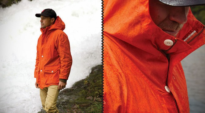 The Waxed Anorak - Jacket For Unlikely Conditions