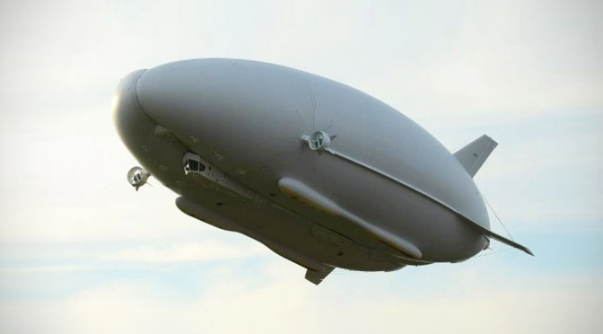 The World's Longest Aircraft: HAV Airlander