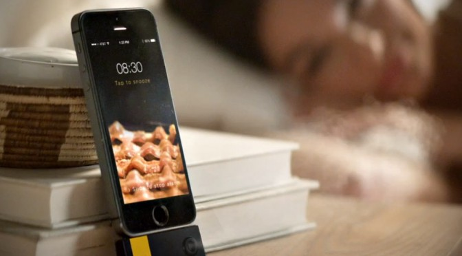 Wake Up & Smell The Bacon iPhone Alarm Clock