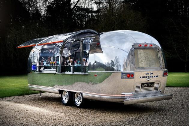 Apollo 70 Airstream Land Yacht Mobile Bar
