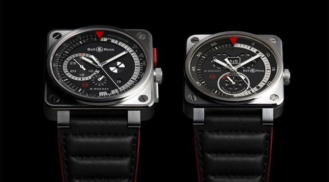 Bell & Ross BR01 and BR03 B-Rocket