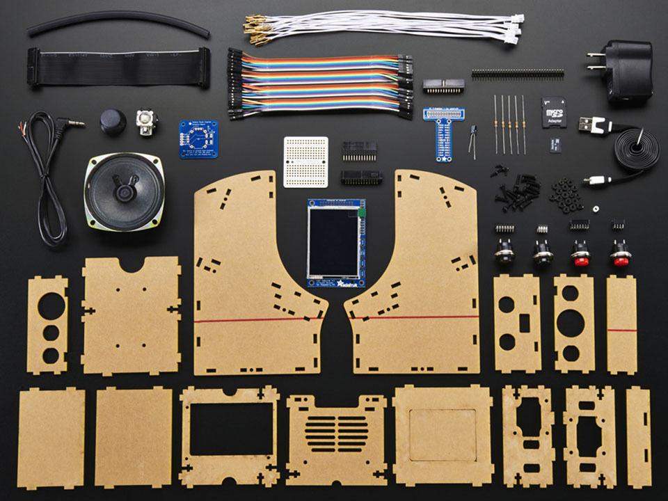 Cupcade Raspberry Pi Powered Micro Arcade Cabinet Kit