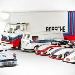Custom LEGO Martini Porsche Racing Set
