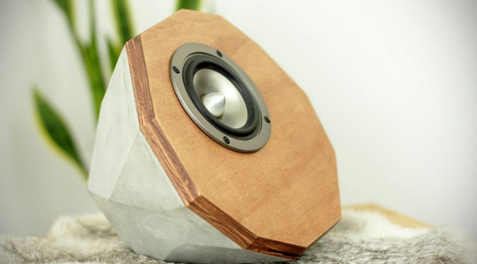 Designer Concrete Speakers: Prototype