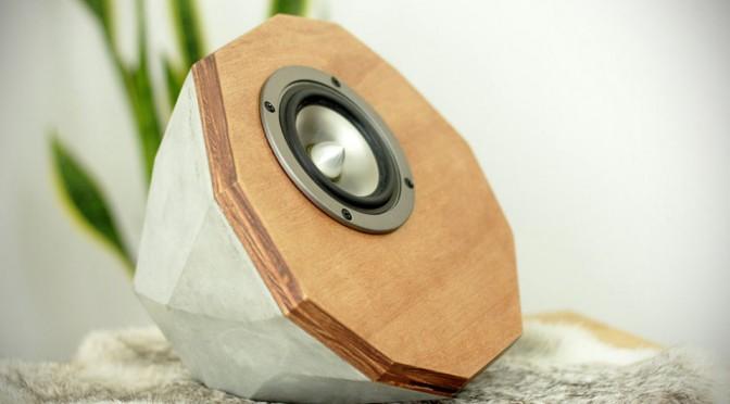 Designer Concrete Speakers: Prototype