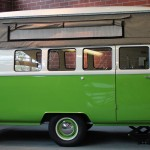 Dub-Box Camper – VW Bus-inspired Tow-behind Camper