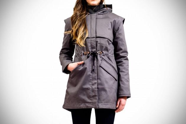 Fashionable Weatherproof Outerwear By Mia Melon