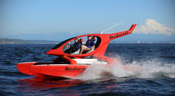 HeliCat 22 Helicopter-inspired Catamaran