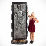 Life-size Han Solo In Carbonite Figure