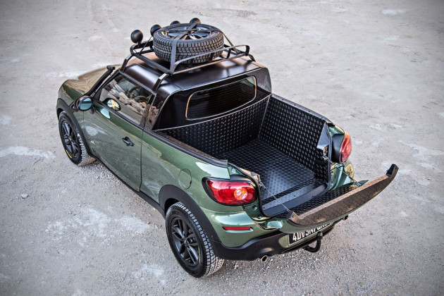 MINI Paceman Adventure Concept Truck