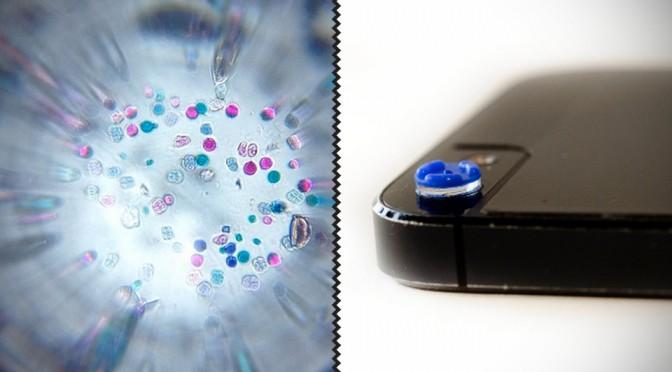 Micro Phone Lens 150x