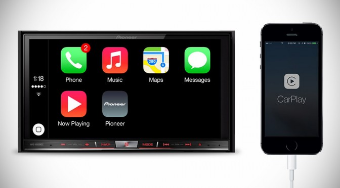 Pioneer NEX CarPlay In-Dash Head Units
