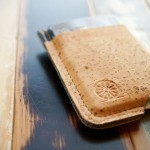 STITCH & LOCKE Minimalist Cork Wallet