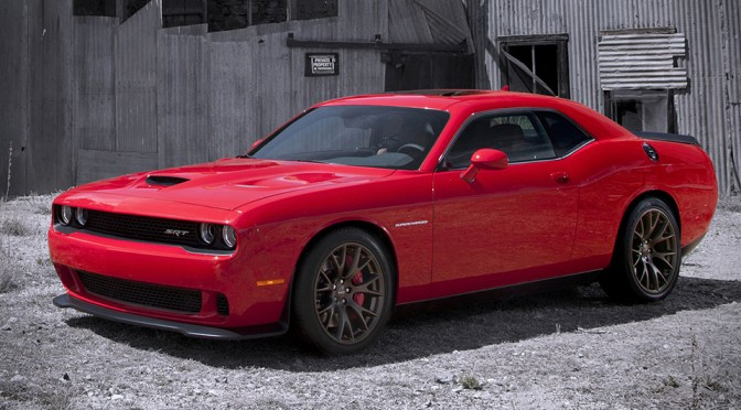 Meet The Most Powerful Challenger Ever: The Dodge Challenger SRT Hellcat