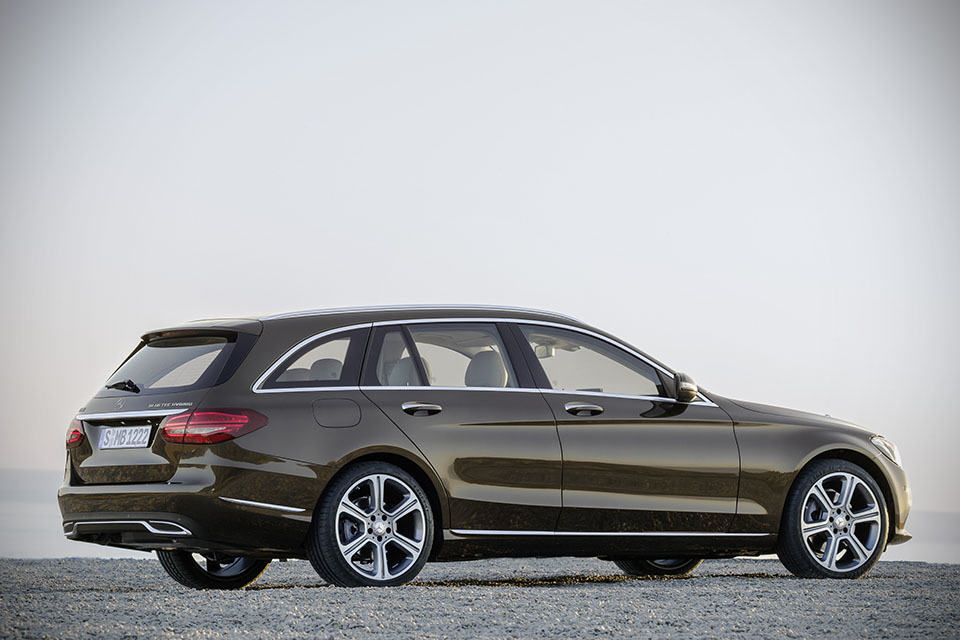 mercedes benz c class estate space up weight down. Black Bedroom Furniture Sets. Home Design Ideas