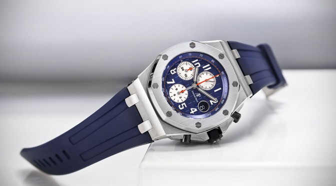 Audemars Piguet Royal Oak Offshore Blue Mens Watch
