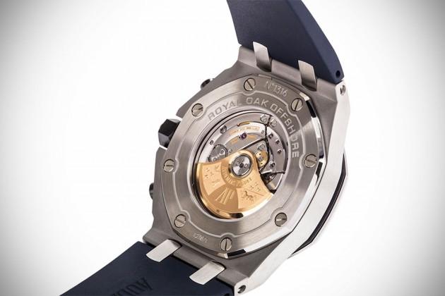 Audemars Piguet Royal Oak Offshore Blue Mens Watch