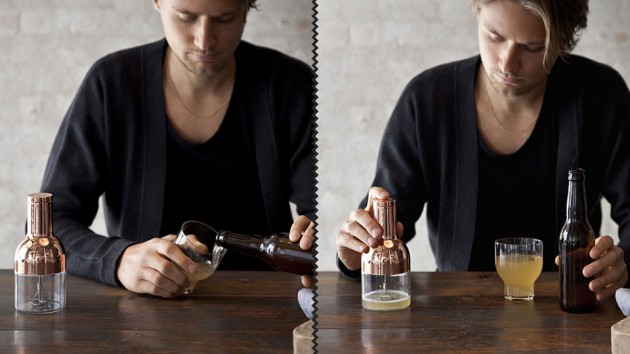 Beer Foamer Designed By Norm Architects