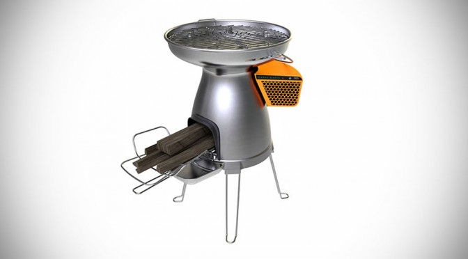 BioLite BaseCamp Stove Cooks For Many And Charges Your Gadgets Too