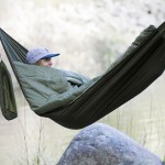 Bison Bag Is A Hammock And Sleeping Bag Roll Into One