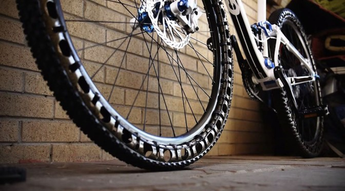 Energy Return Wheel Airless Bicycle Tires