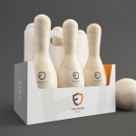 Bowling Pin-shaped Six-Pack Lets You Reuse Them As, Well, Bowling Pins
