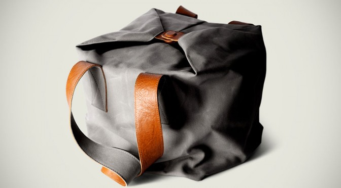 Hard Graft Cube Tote / Shore