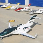 HondaJet First Production Aircraft Enters Final Assembly